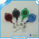 Colorful Transparent Plastic Badge Reel