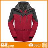 Men′s Fashion 3 in 1 Waterproof Jacket