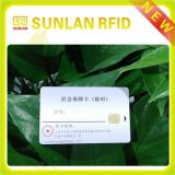 High Quality ISO Standard RFID 13.56MHz 125kHz Contact Card