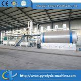 Waste Tyres Pyrolysis to Oil Plant