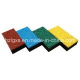 Multipurpose En1177 Approved EPDM Rubber Floor Tiles