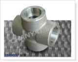 3000lb, 6000lb, 9000lb Socket Welding Cross DIN (1.4410, X2CrNiMoN25-7-4)