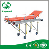 My-K012 Folding Medical Stretchers CE Proved Trolley Ambulance Hospital Stretcher