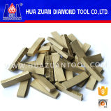 High Efficiency 18 Inch Stone Cutting Diamond Segment Marble Diamond Tips for Bridge Saw Blade