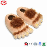 Halflings Plush Foot Shape Cute New Design Soft Slipper Shoe