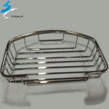 304 Stainless Steel Hardware Metal Bathroom Basket Shelf