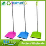Wholesale Custom Household Multicolor Plastic Dustpan with Long Handle