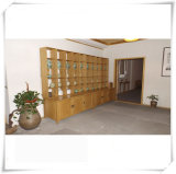 2015 New Style Bamboo Storage Display Cabinet