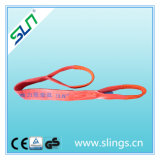 2017 En1492 5t Polyester Web Sling with Double Eyes