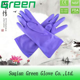 Cheap Purple Household Washing Glove