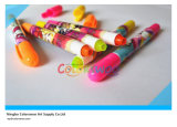 3PCS Rotatable Fluorescence Crayon for Kids and Students