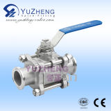 304# Stainless Steel Clamp Ball Valve Factory