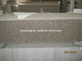 China Polished G687 Peach Red Granite Tile