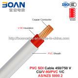 PVC Sdi Cable, 450/750 V, 1/C, Australian Cu/V-90/PVC Power Cable (AS/NZS 5000.2)