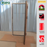 Colorful UPVC/PVC Tilt and Turn Windows with Roto Handle