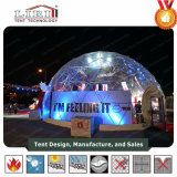 Geodesic Domes Marquee Tent with Transparent Cover
