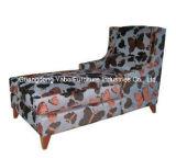 Modern Lounge Sofa Fabric Sofa Wooden Furniture