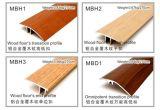 Mbh Seriesflooring Accessories Covered Wearable Wood Veneer Aluminum Profiles for Flooring 12mm~15mm