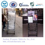 High Quality Metal Wire Tabloid Newspaper Rack