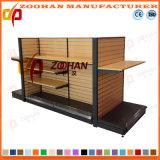 Supermarket Wooden Metal Store Display Shelf (Zhs267)