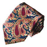 New Fashion Wine Colour Design Woven Silk Neckties