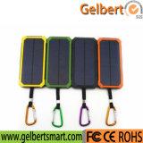 Newest Torch Light Dual Port Li-Polymer Battery Solar Charger Power Bank