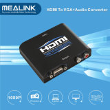 Hot! VGA+ R/L Audio to HDMI Converter (1080P)