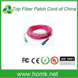 LC Om4 Duplex Fiber Optic Pigtail 0.9mm