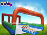 Inflatable Pony horse Game with race track