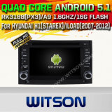 Witson Android 5.1 Car DVD GPS for Hyundai H1 (STAREX) /Iload (2007-2012) with Chipset 1080P 16g ROM WiFi 3G Internet DVR Support (A5742)
