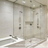 Clear Tempered Glass Shower Screen