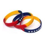 OEM Design Color Silicone Message Bracelet