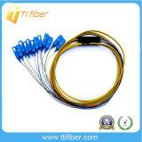 12core SC/PC Singelmode 9/125 Fiber Pigtail for ODF