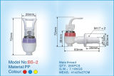 Normal Plastic Water Tap with The Material PP (BS-2)