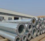 Hot DIP Galvanized Electricity Transmission Steel Pole, Electric Power Galvanized Steel Tubular Pole