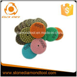 2 Inch 7 Steps Granite Diamond Resin Wet Polishing Pad