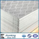 Pre-Cutted Checker Aluminium Plain Plate for Door
