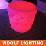 Rechargeable High Quality Mini LED Stool for Bar/LED Stool Lamp/Glow LED Illuminate Stool