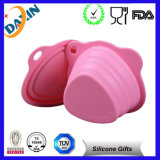 Foldable Silicone Bowl with FDA LFGB Certificate