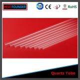 High Fused Clear Quartz Glass Twin Tube