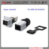 UL Approved 8P8C RJ45 Metal Connector