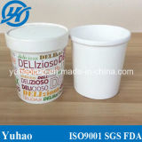 Cheap Customize Ice Cream Cup with Dome Lid with Spoon (YH-L410)