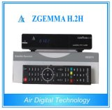 Multimedia Player Zgemma H. 2h High CPU Linux OS Enigma2 DVB-S2+T2/C Twin Tuners