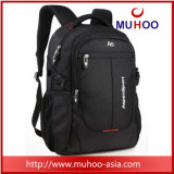 15 Inch Classical Black Messenger Laptop Backpack Computer Bag for Men