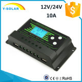 New-Hot 10A/20A/30A 12V/24V-Auto Backlight-Function Solar Controller Z10