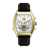 Mens Best-Selling Quality Chronograph Man Luxury Gold Function Watch