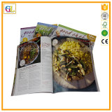 Soft Cover Cookbook Printing Service (OEM-GL034)