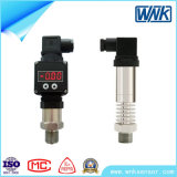 Clamp Pressure Sensor Transducer, Open Flush Diaphragm Pressure Sensor with DIN43650 Hirschman