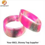 2015 Custom Soft Promotion Personalized Silicone Wristband (XY-MXL72902)