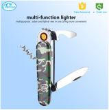 Multi-Function Portable Knife USB Charging Lighter